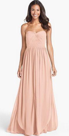 4ba1601dca2 Bridesmaid dress by Jenny Yoo - so flattering! Blush Bridesmaid Dresses