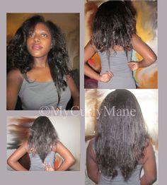 My length check for Nov. 2012. Straight natural hair! http://mycurlymane.com/length-check-nov-2012/