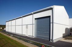 Location d'un #bâtiment démontable temporaire, par #Legoupil Industrie.