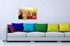 A2 Personalised Canvas