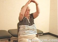 Arm Stretches That Are Safe, Simple And Effective Exercises For Older Adults And The Elderly.