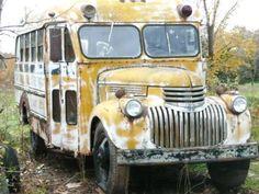 '48 Chevrolet Superior School Bus
