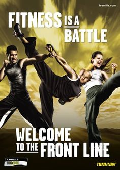 Body Combat is where I take my anger out............