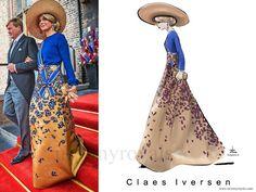 Claes Iversen dress - Prinsjesdag 2016