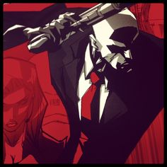 Diana & 47 in HD Trilogy artwork. #hitman #agent47 #diana #ICA