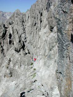 Lechtal - Dremelspitze afdaling