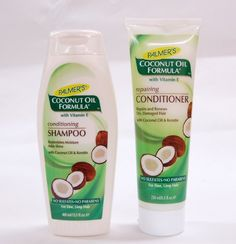 Palmers Coconut Oil Formula Conditioning Shampoo 400Ml & Repairing Conditioner 250Ml Pack Palmer's