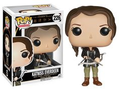 Amazon.com: Funko POP Movies: The Hunger Games - Katniss Everdeen Action Figure: Funko Pop! Movies:: Toys & Games