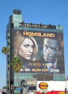 Homeland season two billboards...