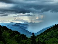 Rain in the valley. Great Smoky Mountains by Rex McDaniel Nc Mountains, North Carolina Mountains, Great Smoky Mountains, Smokey Mountain, Mountain High, Cosmos, Beautiful World, Beautiful Places, Cades Cove