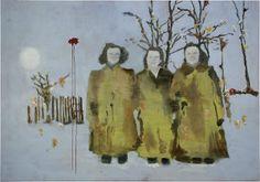 Uwe Wittwer - Three sisters, 2010 - Negative painting
