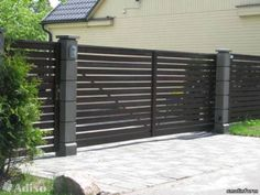 9 Mind Blowing Useful Ideas: Barn Door Fence Gate front yard fence with gate.Heritage Brick Fence front yard fence with gate.Fence Stain Before And After. Brick Fence, Concrete Fence, Front Yard Fence, Farm Fence, Fenced In Yard, Low Fence, Horse Fence, Glass Fence, Fence Stain