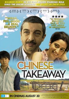 Chinese Takeaway (also called Chinese Take Out and Un cuento chino). I loved this film. Watched it as part of Spiritual Cinema Circle's monthly selection. Watch it if you can find it.