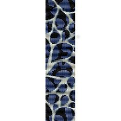 PAISLEY PETALS - LOOM beading pattern for cuff bracelet (buy any 2 patterns - get 3rd FREE)