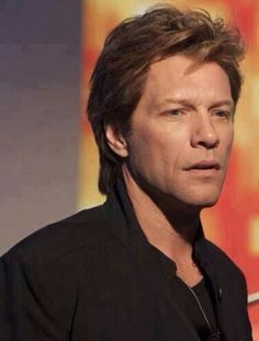 A very serious looking Jon Bon Jovi