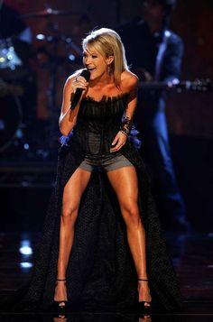 carrie underwood's legs are phenomenal.