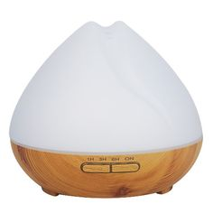 GreenLeaf Ultrasonic Essential Oil Diffuser and Humidifier wit LED Lights Essential Oil Diffuser Humidifier, Tiring Day, Color Changing Lights, Sleep Help, Pet Odors, Organic Essential Oils, Diffusers, Tea Tree Oil, How To Relieve Stress