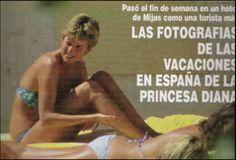 2.5.94 May of 1994 Diana travelled to Malaga Spain