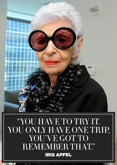 11 Inspiring Quotes from Fashion Icon Iris Apfel
