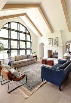While there is a whole host of window types to choose from, we have a particular soft spot for the arched variety. Read on for 10 arched window ideas suited for every style and space. #hunkerhome #windows #windowideas #archedwindows #archedwindowideas
