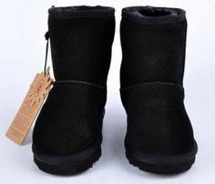 Ugg Classic Short Black Boots 5281 Kids Model: Ugg Boots 144 Save: 60%