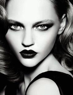 Sasha Pivovarova for Giorgio Armani cosmetics Hollywood Edition 2007 ✖💋✖