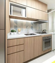 49 Get The Scoop On Compact Kitchen Layout Tiny Homes Before You're Too Late 23 One Wall Kitchen, Kitchen Room Design, New Kitchen Cabinets, Kitchen Cabinet Design, Modern Kitchen Design, Kitchen Layout, Home Decor Kitchen, Interior Design Kitchen, Home Kitchens