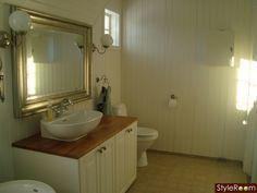 Badrum - Ett inredningsalbum på StyleRoom Bathroom, Decor, Furniture, Home, Framed Bathroom Mirror, Mirror, Bathroom Mirror, Home Decor