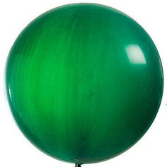 These Giant Green Latex Balloons are perfect for your party. This green latex balloons measures an amazing 3 feet in diameter.