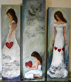 Angel Pictures, Art Pictures, Painting Lessons, Painting & Drawing, Angel Crafts, Pintura Country, Arte Pop, Christmas Paintings, Angel Art