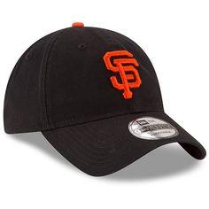 finest selection 8e1c9 ebe3c San Francisco Giants New Era Game Replica Core Classic 9TWENTY Adjustable  Hat - Black San Francisco