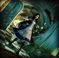 XNALara+Photoshop Alice Default by Twisted corridor (AIW) by Fortress of Doors Alice In Wonderland Drawings, Alice And Wonderland Quotes, Adventures In Wonderland, Alice Liddell, Bambi Art, Character Art, Character Design, Alice Madness Returns, Arte Horror