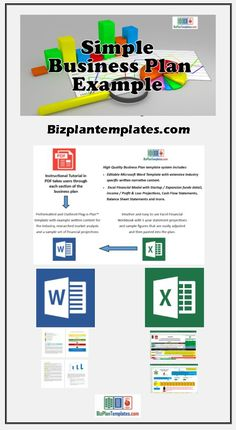 Start and plan your company using this high quality fully editable business plan example. Simple Business Plan Example, Basic Business Plan, Business Plan Software, Business Plan Outline, Business Plan Template Free, Business Proposal Template, Writing A Business Plan, Proposal Templates, Business Planning