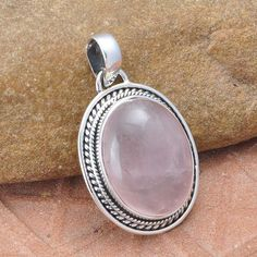 #Awesome 925 #Sterling #Silver #Handmaded #Rose #Quartz #Gemstone #Pendant #for #Women & #Man Jewelry #We #deals #in all #types of #jewelry #Tribal, #Fashion #Jewelry #Fine #Jewelry #Handcrafted #Artisan #Jewelry #Jewelry #Design & #Repair #Men's #Jewelry #Vintage & like #Children's Jewelry #Engagement & #Wedding #Ethnic, #Regional & #Antique #Jewelry #Wholesale Lots so #please ask #us if you have any #enquiry