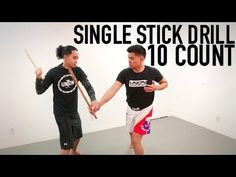 KALI 10 COUNT SINGLE STICK DRILL - YouTube
