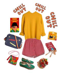 """""""chill OUT"""" by sborshevsky ❤ liked on Polyvore featuring Vans"""
