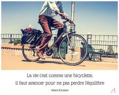 domazen.blog citation vélo équilibre - Albert Einstein