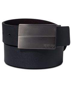 Kenneth Cole Reaction Reversible Plaque Big & Tall Belt
