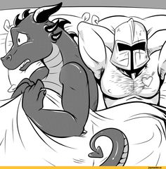 When they say slay the dragon but your hearing isn't the best Dragon Comic, Dragon Art, Furry Wolf, Furry Art, Dnd Funny, Dungeons And Dragons Memes, Dragon Memes, Accel World, Character Art