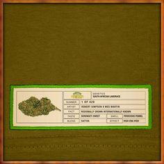 Durban Poison Original Bud Label