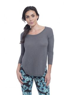 The perfect every day look with the Zahra Sweater and the Murano print Allegro legging.