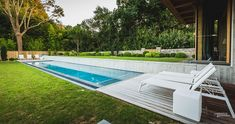 Natural greenery around the pool offers ample privacy