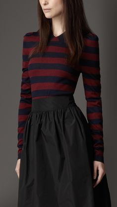 burberry-striped-silk-cotton