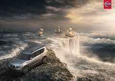 bring the world back to float. nissan.