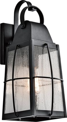 Save on Kichler Tolerand 1-Light Outdoor Wall Mount Textured Black 49553BKT 49553BKT | LampsUSA