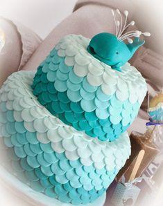 bolo fundo do mar menina - Pesquisa Google First Birthday Cakes, 16th Birthday, Birthday Parties, Beautiful Cakes, Amazing Cakes, Splash Party, Pretty Cupcakes, Moana Birthday, Tropical Party