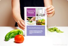 Recetario Verano, descárgatelo ya gratuitamente Food N, Food To Make, Easy Meals, Vegetables, Drinks, Cooking, Desserts, Collars, Chocolate