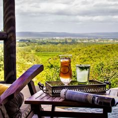 Enjoy a cocktail with a view over Hitgeheim Country Lodge & Eco-Reserve. Holiday Activities, Nature Reserve, Lodges, Cocktails, Country, Craft Cocktails, Cabins, Rural Area, Cocktail