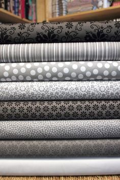 Riley Blake and Doodlebug designs Tuxedo Collection from poppyseedfabrics via Etsy.