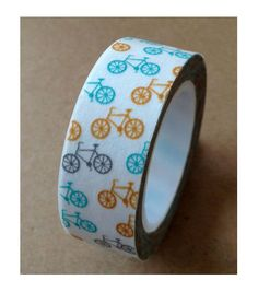 Love My Tapes Washi Tape 0.5''x10 yds-Bicycles